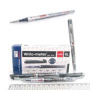 Ручка гелева чорна 0.5 мм пише 10 кілометрів Writometer Cello G01-BK