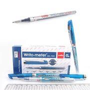 Ручка гелева синя 0.5 мм пише 10 кілометрів Writometer Cello G01-BL
