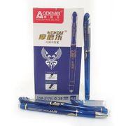 Ручка гелева з стираючими чорнилами. Чорнило видаляється за допомогою гумки, розташованої у корпусі ручки. Пишучий вузол - 0,38мм. Колір чорнила: синій Josef Otten GP-3176-BL (12/144/2304)