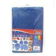 SQ170-020 Фетр SOFT 170GSM 1,2мм Синий 10PC/OPP A4 (1)