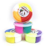 IMG1814 Пластилин супер легкий 4 цвета, 50g, 12шт/этик (12/360)