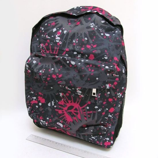 IMG-1972-B Рюкзак с карманом Peace 42х30х13см (1)