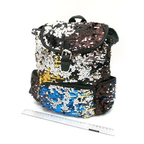 IMG_2915 (IMG-5611) Рюкзак с пайетками Fashion 30*27*14см (5)