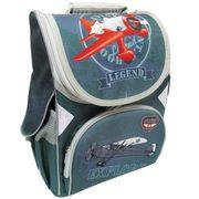 JO-1518 Рюкзак коробка Самолет 13,5'' 3 отд., ортоп., светоотраж. (6)