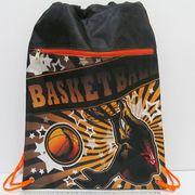 JO-16021 Мешок для обуви со змейкой Баскетбол 42*32,5см (1)