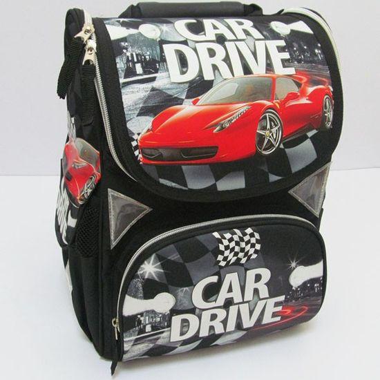 JO-1608 Рюкзак коробка Car drive 13,5'' 3 отд., ортоп., светоотраж. (6)