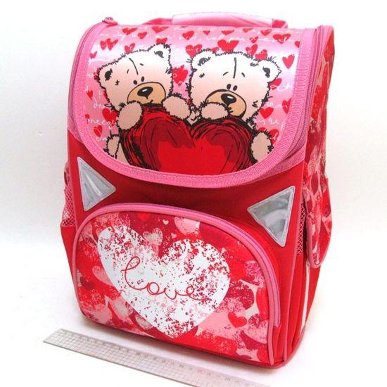JO-1712 Рюкзак коробка Love 13,5'' 3 отд., ортоп., светоотраж. (1)