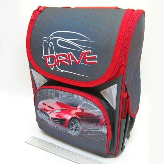 JO-1724 Рюкзак коробка Drive 13,5'' 3 отд., ортоп., светоотраж. (1)