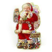 Новорічний плакат Дід Мороз. Розмір 57х33 см Josef Otten NY-7030-3