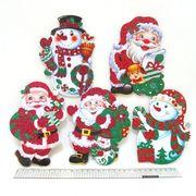 DSCN7073 Подвеска картон. Merry Christmas 16*11см, mix5 10шт/уп (10/800)