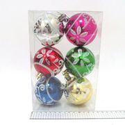 DSCN7330-7СМ Набор шар. Patterns 7см, 6шт. PVC (80)