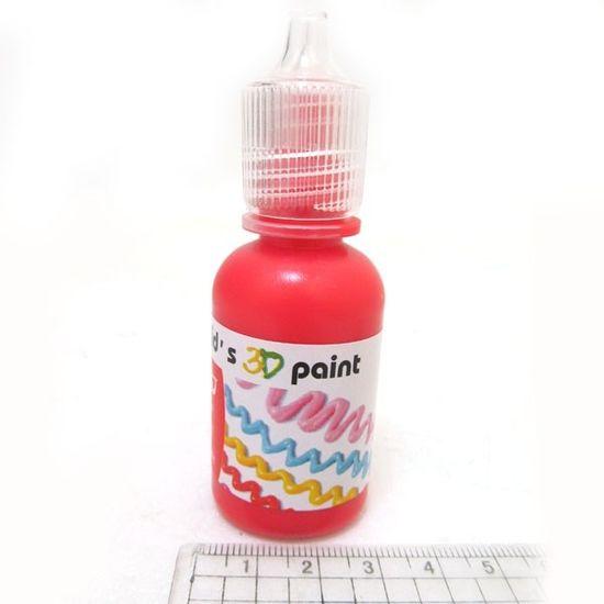 OL1230-OL009 Краска 3D 30ml красная (12/288)