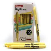 Маркер текстовий 1-3,5 мм Highliters пастельні відтінки жовтого 4145  Luxor (10/100/800)