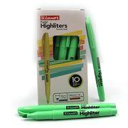 Маркер текстовий пастельні відтінки зеленого 1-3,5 мм Luxor Highliters 4142Р (10/100/800)