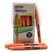 Маркер текстовий пастельні відтінки помаранчевого 1-3,5 мм Luxor Highliters 4143Р (10/100/800)