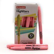 Маркер текстовий пастельні відтінки рожевого 1-3,5 мм Luxor Highliters 4144Р (10/100/800)
