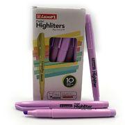 Маркер текстовий пастельні відтінки пурпурного 1-3,5 мм Luxor Highliters 4147Р (10/100/800)