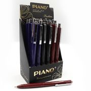 Ручка масляна автоматична синя 0.5 мм Featly Piano PS-003
