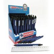 Ручка масляна автоматична синя 0.7 мм Smart soft Piano PT-203