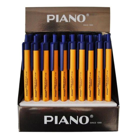 Ручка шариковая автоматическая синяя  0,7 мм Piano Josef Otten PT-208
