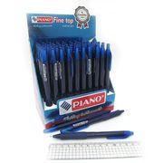 Ручка масляна автоматична синя 0.7 мм Piano PT-301