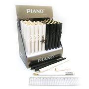 Ручка масляна синя 0.5 мм з підвіскою Piano PT-305