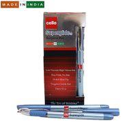 Ручка масляна синя 1.0 мм з гумовим тримачем Superglide Cello Original