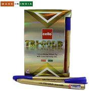Ручка кулькова синя 1.0 мм Tri-mate Gold Cello Original