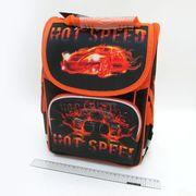 SM-1813 Рюкзак коробка Hot speed 34*26*14,5см, 3 отд., ортоп., светоотраж. (4)