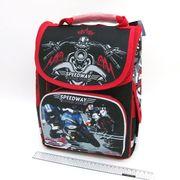SM-1816 Рюкзак коробка Moto 34*26*14,5см, 3 отд., ортоп., светоотраж. (4)