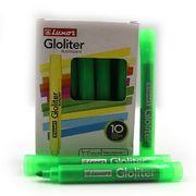 Маркер текстовий флуоресцентний Luxor Gloliter  1-3,5 мм, зелений 4132T (10/100/800)