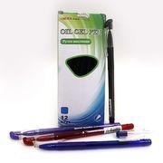 Ручка масляна синя 0.7 мм з гумовим тримачем Beifa TA317600-12