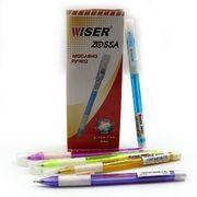 Ручка масляна синя 0.7 мм з гумовим тримачем Zossa mix Wiser