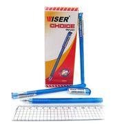 Ручка гелева синя 0.6 мм Choice Wiser