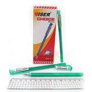 Ручка гелева зелена 0.6 мм Choice Wiser