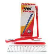 Ручка гелева червона 0.6 мм Choice Wiser