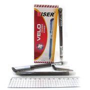 Ручка гелева чорна 0.6 мм Velo Wiser