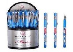Ручки MASTER  шариковые дисплей 30шт  синие (30/1200)