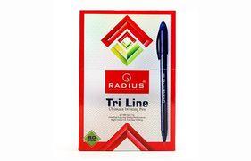 Ручка кулькова чорна 0.7 мм Tri Line TT Radius