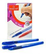 Ручка кулькова синя 0.7 мм з гумовим тримачем Tri Flex ТТ Radius