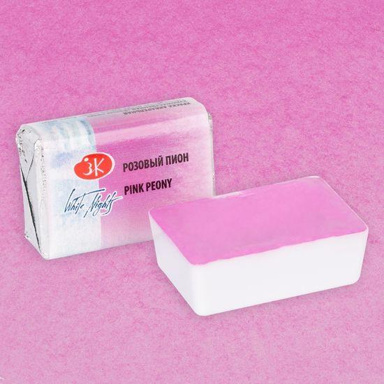 Краска акварельная розовый пион 2,5 мл Кювета ЗХК