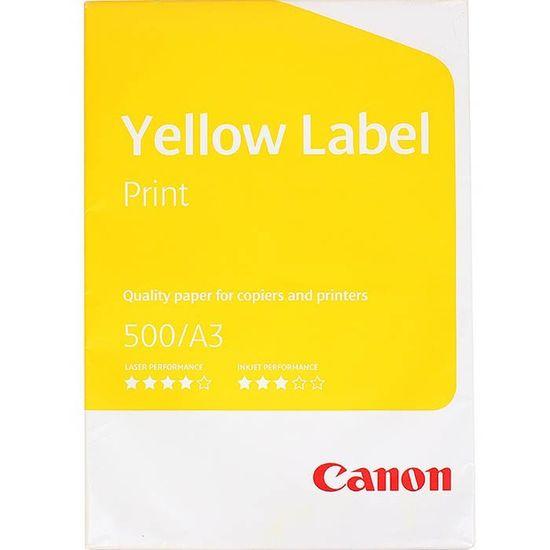 Папір А3 80 Canon Yellow Label  500 арк. (N)