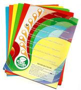 Папір кольоровий офісний А4 IQ Mix 80 г/м2 50 аркушів 10 кольорів по 10 аркушів