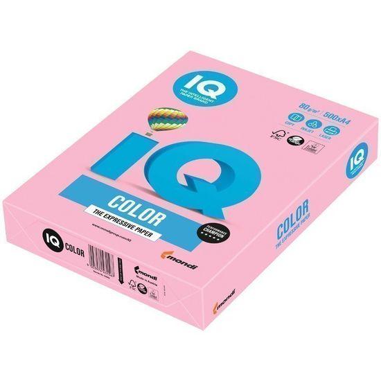 Бумага цветная офисная А4 Mondi Coloured Pastel ОРI74 (розовый фламинго) 80 г/м2 500 листов
