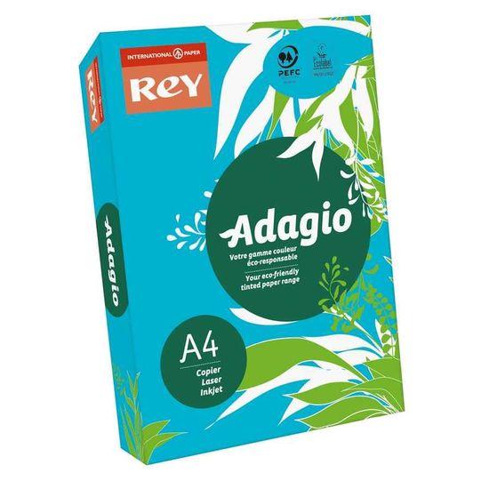 Бумага цветная офисная А4 Adagio Intense Deep Blue 51 (голубой) 80 г/м2 500 листов