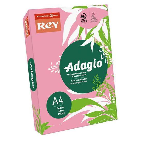 Бумага цветная офисная А4 Adagio Bright Candy 05 (розовый) 80 г/м2 500 листов