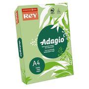 Папір кольоровий офісний А4 Adagio Bright Leaf Green 41 (зелений) 80 г/м2 500 аркушів