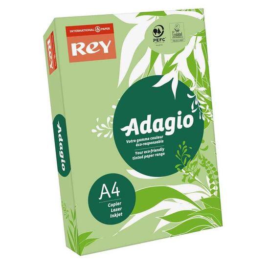 Бумага цветная офисная А4 Adagio Bright Leaf Green 41 (зеленый) 80 г/м2 500 листов
