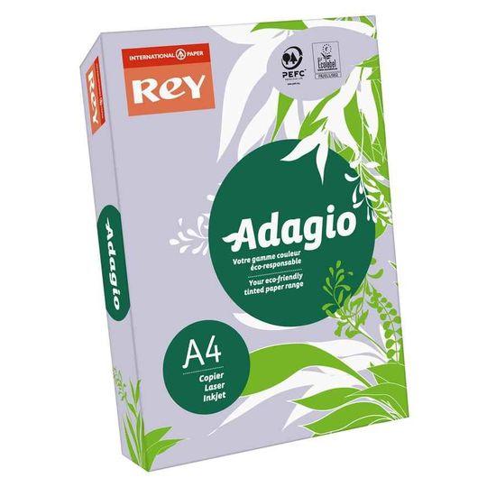 Бумага цветная офисная А4 Adagio Intense Lavender 61 (фиолетовый) 80 г/м2 500 листов