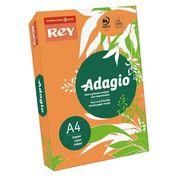 Папір кольоровий офісний А4 Adagio Intense Pumpkin 70 (помаранчевий) 80 г/м2 500 аркушів